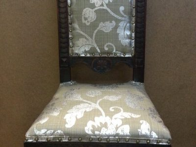 hand-made-wooden-chair-after-we-completely-restored---new-webbing-cotton-fabric--nailheads_15515434846_o